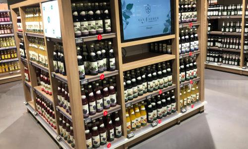 Pusheeze pour les cavistes, vente de vin en magasin