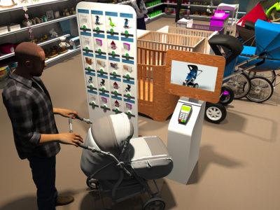 Pusheezewall en magasin pour enfants